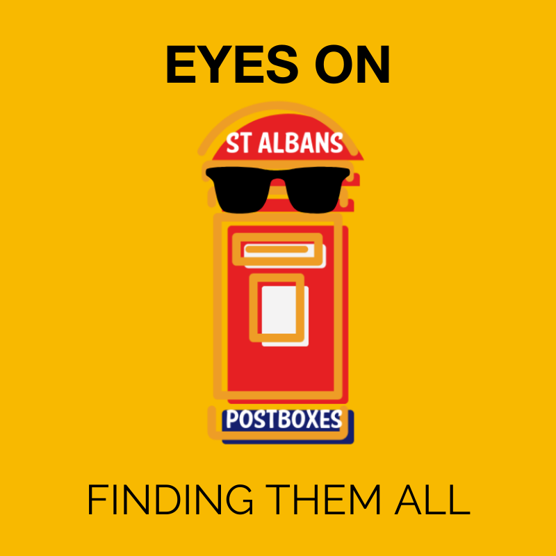 St Albans postboxes, eyes on st albans, competition